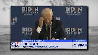 Moments of Joe Biden just trying to speak