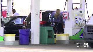 Average gas price in Michigan sets 2021 high after rising 9 cents per gallon