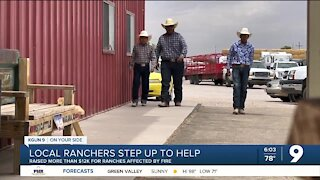 Local ranchers raise thousands to help ranchers affected by wildfires