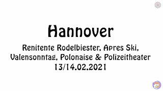 PARTY - PARTY - PARTY! Mit 'DJ Captain Future' von Berlin nach Hannover (13/14.02.2021).
