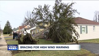 WNY leaders prepare for wind storm