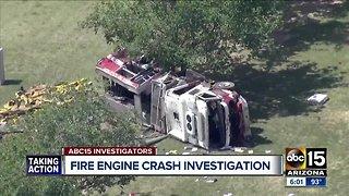 Investigation into deadly crash involving a Phoenix firetruck underway