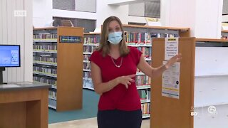 Mandel Public Library of West Palm Beach reopens its doors