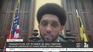 Transition of power in Baltimore