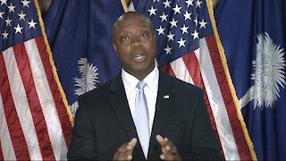 Sen. Tim Scott Delivers GOP Rebuttal To Pres. Biden's Joint Address