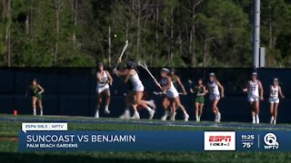 Benjamin girl's lacrosse advances to district title game
