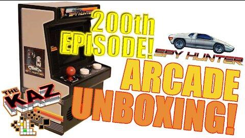 200th Episode! Spy Hunter Arcade Classics Unboxing