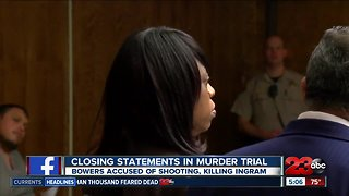 Closing statements begin for trial for woman accused of killing boyfriend