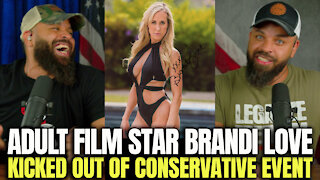 Adult Film Star Brandi Love Kicked Out Conservative Event
