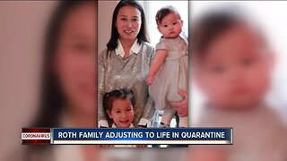 Neenah family adjusting to life in quarantine