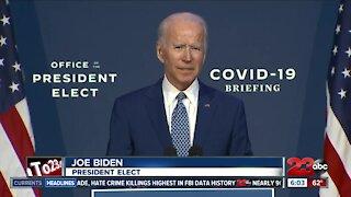 President-elect Joe Biden calls for unity against COVID-19