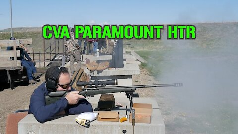 CVA Paramount HTR Long-Range Muzzleloader : TTAG On The Range