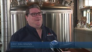 Amid shutdown, distillery trades alcohol for hand sanitizer
