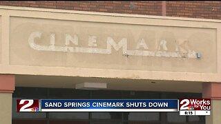 Cinemark movie theater in Sand Springs shuts down