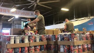 National Guard helps feed local families