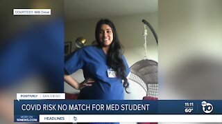 Covid risk couldn't stop pregnant UCSD medical student