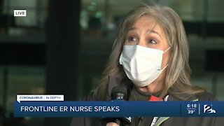 Frontline ER nurse shares her experience during pandemic