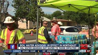 Precautionary boil water advisory in effect