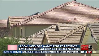 Local Landlord Waives Rent For Tenants