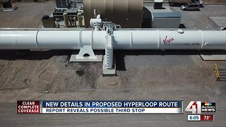 Study: Some land along Hyperloop route is private property