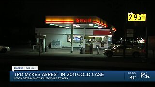 Tulsa PD make arrest in cold case after 8 years