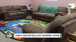 Lake County's only homeless shelter offers extended hours for families