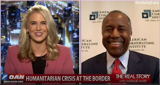 The Real Story - OANN Smuggling Footage with Dr. Ben Carson