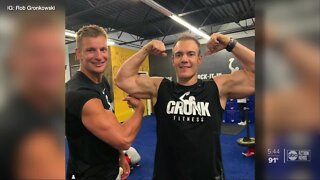 Chris, brother of Rob Gronkowski, speaks on growing up with the Gronks