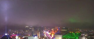 Timelapse of the Las Vegas Strip Tuesday night