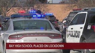 'No credible threat found' following lockdown at Bay High School