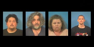 Several Pahrump residents arrested for crimes against children, bestiality