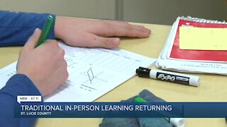 St. Lucie Public Schools to return to traditional in-person learning next school year