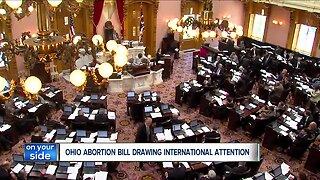 Ohio's new abortion bill getting international attention