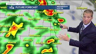 Warm, humid Tuesday ahead