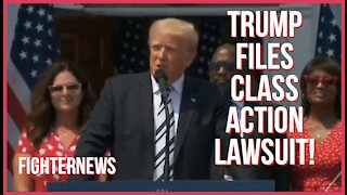 PRESIDENT TRUMP ANNOUNCES CLASS ACTION LAWSUIT AGAINST BIG TECH COMPANIES!