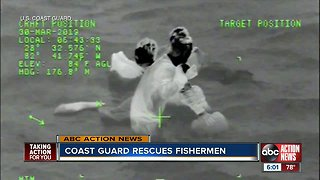 Coast guard makes early morning rescue