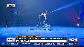 Cirque Italia returns to Southwest Florida - 7:30am live report