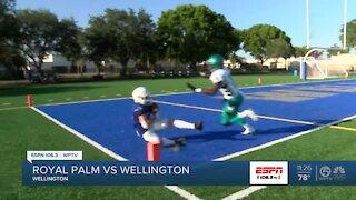 Wellington wraps up spring football