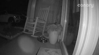 Strange paranormal activity caught on home security footage