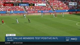 Six FC Dallas members test positive for COVID-19