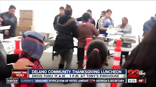 2nd Annual Delano Community Thanksgiving Luncheon