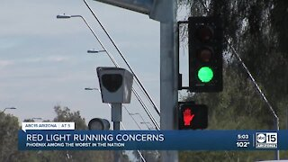 Phoenix among worst in the nation in red light running