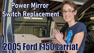 Ford Power-Mirror Switch Replacement