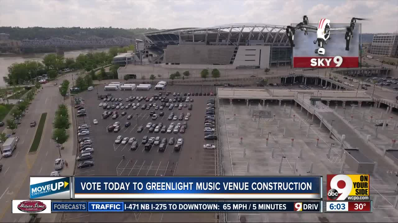 Banks music venue construction still waiting on two crucial votes