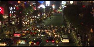 Black Lives Matter protesters take to Vegas Blvd on Juneteenth