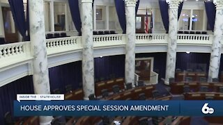 Idaho House Lawmakers Approve Special Session Amendment