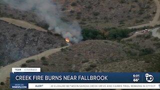 Creek Fire burns 3,050 acres near Fallbrook