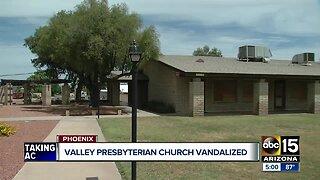 Presbyterian church in Phoenix vandalized