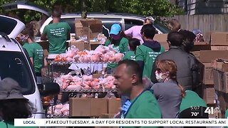 Food banks face new challenges during pandemic