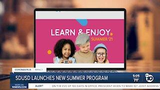 SDUSD launches new summer program